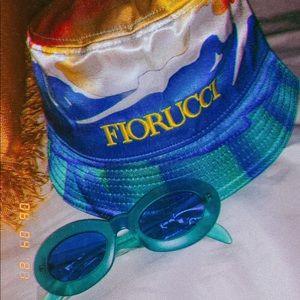 Vintage Style Marigold Oval Sunglasses